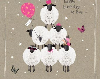 Happy Birthday to Ewe!! Greeting Card