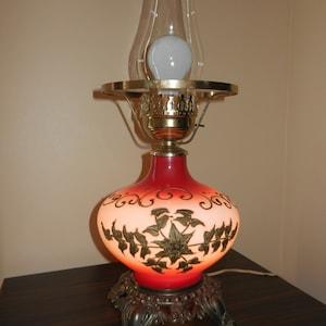 Lamp,Lamps,Hurricane Lamp,Hurricane Shade,Globe,Brass Reliefs