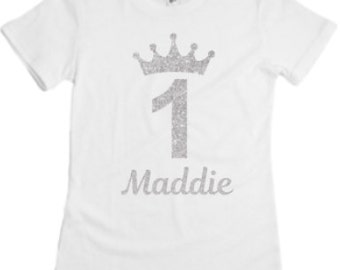 Birthday Girl Princess Shirt