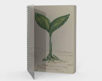 Seedling Spiral-Bound Notebook