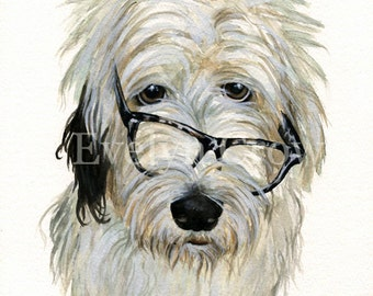 Custom Portraits from Your Photos - Pet Portrait - Original Watercolor Painting 8x11 inches