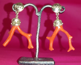 Coral Branches Earrings