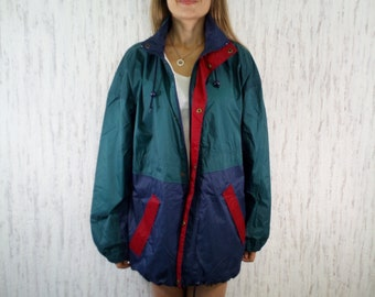 Vintage TCM Windbreaker Festival Raincoat Jacket