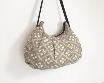 SALE // Pleated Bag // Shoulder Purse - Arabesque Taupe