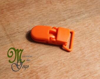 Clip (2 cm) KAM pacifier clip. Orange B55.