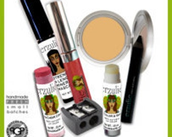 Goddess On The Go Kit    All Natural  Non-comedogenic Organic Mineral Makeup