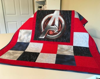 Avengers Baby Quilt