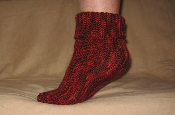 Custom Crochet Tube Sock Pattern