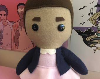 Eleven Jane Hopper Stranger Things Fleece Plush Doll