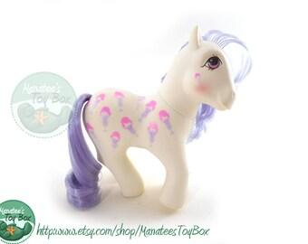 Vintage My Little Pony Scoops: Ice Cream Themed Pony 80s Toy by Hasbro