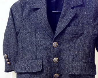 Boys Lined Suit Jacket