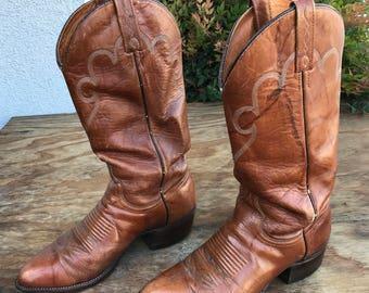 Vintage Men's Cowboy Boots J. Chrisholm