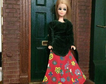 Dawn/Pippa doll 1970s Vintage Geneva Collection Outfit