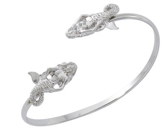 Mermaid Sterling Silver Twist Bracelet