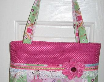 Little Girl's Purse/Diaper Bag, Great for Easter