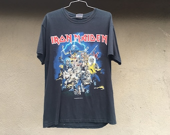 Vintage Iron Maiden Tshirt Size Large Best of the Beast