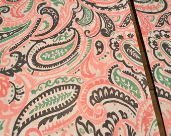 Travelers Notebook Dashboard - Coral, Mint and Navy