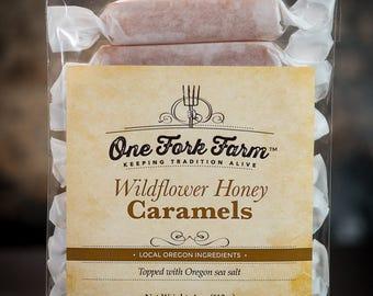Wildflower Honey Caramels - 4oz