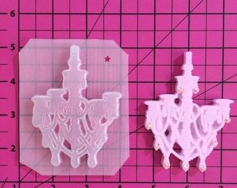 ON SALE Chandelier flexible plastic resin mold
