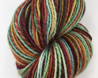 "Handspun Yarn Sportweight ""Tapestry"" 340 yds."