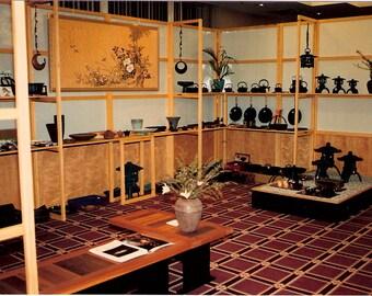 Original show booth custom-built in the Japanese shoji style