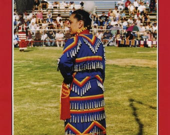 Missouri River Native American Indian Women's Jingle Dress S-XL Sewing Pattern # 31