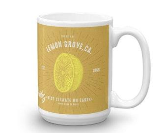 Boho Luxe Style Lemon Grove Mug