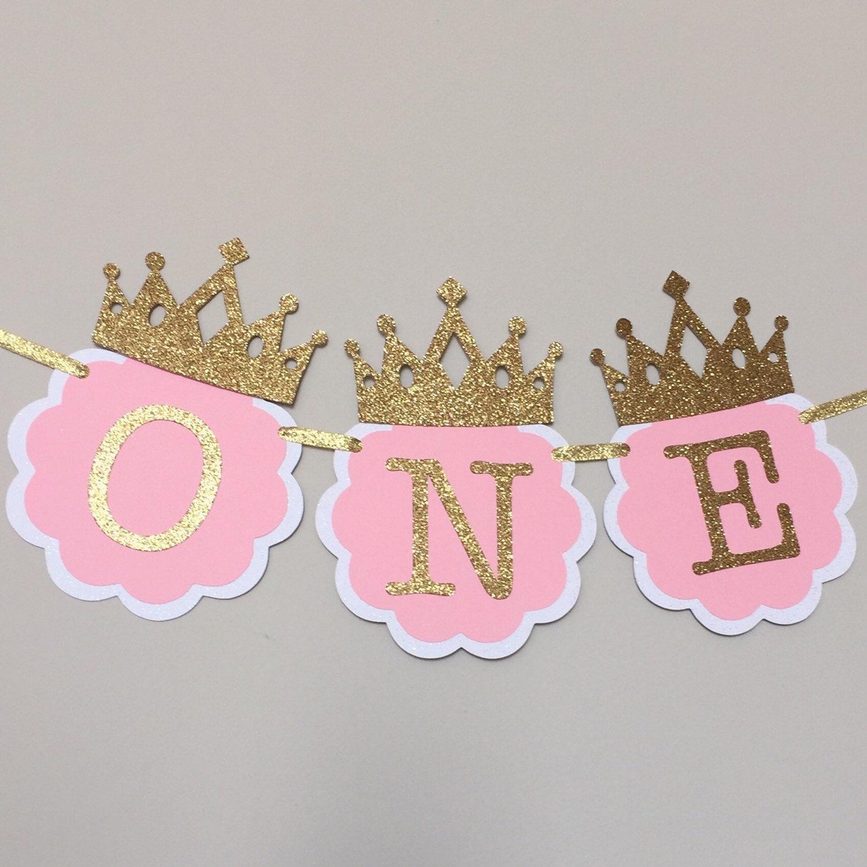 Description Make Your Little Princesss 1st Birthday