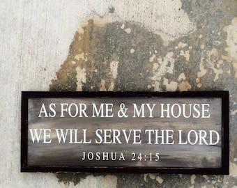Joshua 24:15 sign