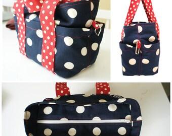 Tote Bag - Everyday Hand Bag - PDF Sewing Pattern