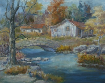 Cabin On the Creek