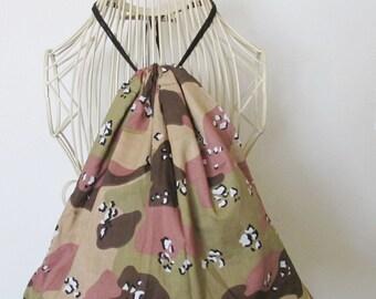 Tan Camoflage backpack