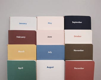 Monthly Diary / Month by Month / Simple Planner / D-04 / 1675566