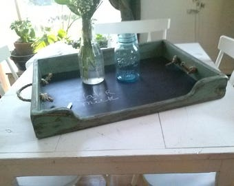 Stove Top Cover with chalkboard bottom