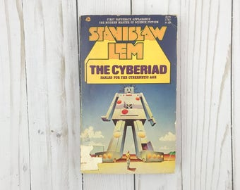 The Cyberiad - Stanislaw Lem - Fables For The Cybernetic Age - Avon - 1976 - Vintage Paperback - Rare Book - Science Fiction Classic