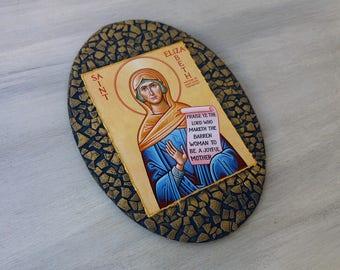 Saint Elizabeth,St Elizabeth,Saint Elisabeth,St Elisabeth,Wife of Zachariah,Biblical Figure,Christian Saint,Female Saints,Religious Icons