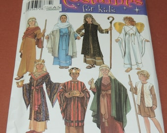 Halloween or Christmas Costume Simplicity 4797 Child  S,M,L Uncut
