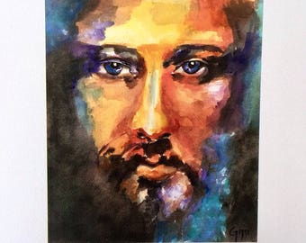 Colors of Christ - Religious Print