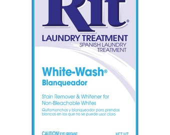 Powder Rit Dye - White Wash All Purpose Stain Remover