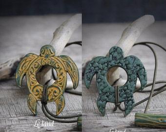 Turtle hair tie dreadlock hair tie dreadlock ties dread hair tie dread holder dread tie ponytail holder dread accessories dread jewelry