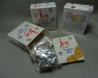 Joy of Cooking Mini Cookie Cutters and Mini Pressed Flowers Kits Three Available