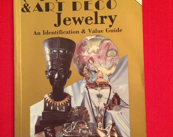 Vintage Jewelry Book  Art Deco Art Nouveau Jewelry Book  Identification and Value Guide Lillian Baker