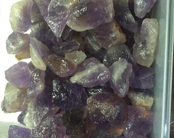 1lb Wholesale Rough Amethyst / Ametrine from Bolivia