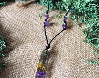 Spirit Of Ostara // Resin Flower Crystal // Ostara (Spring Equinox) Collection