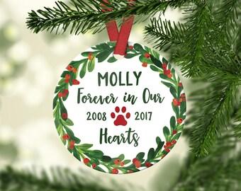 Pet Memorial Ornaments Dog Memorial Gift Pet Loss Gifts Dog Memorial Ornaments Dog Loss Gifts Dog Memorial Ideas Dog Loss Ornament Custom