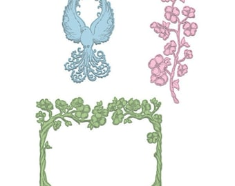 Heartfelt Creations Flowering Dogwood Branches Die HCD1-7130