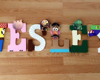 Toy Story Inspired Letters