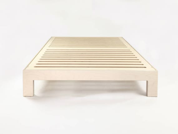 Dreampop Bed / Queen Size Platform Bed Base / Birch Plywood /