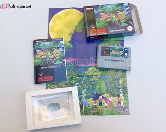 Secret of Mana 2 - PAL - Complete in Box SNES Reproduction