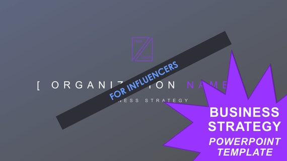 Business Strategy Template - Influencers